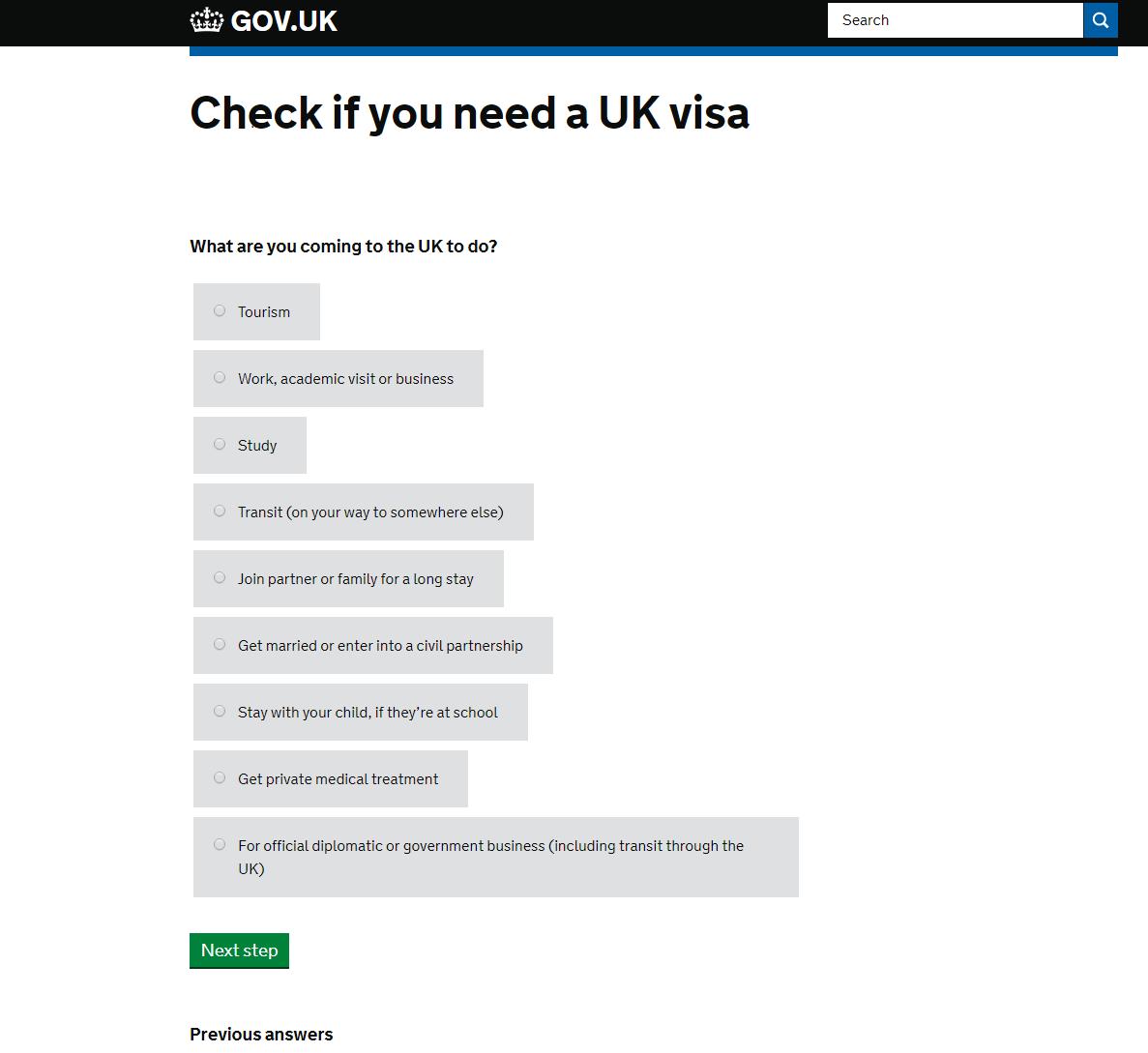 Анкета для английской визы